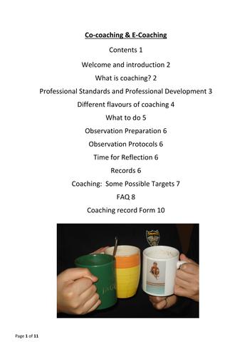 Coaching teachers