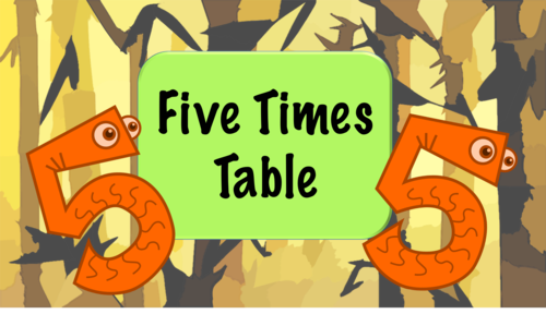 Number Names Worksheets five times table : The Goodeyedeers Shop - Teaching Resources - TES