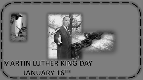 Martin Luther King Day - Quiz, Discussion and Worksheets