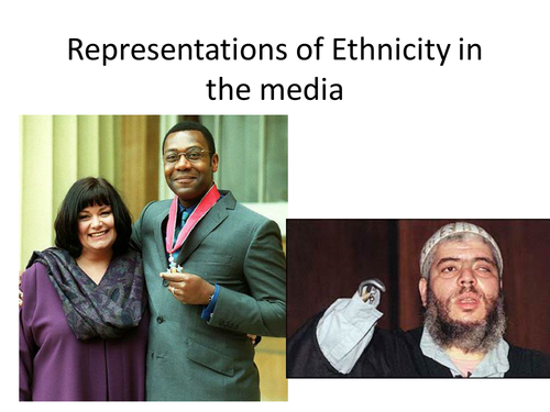 Representations of Ethnicity in the Media