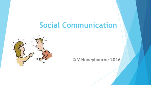 Staff CPD Supporting students with social communication