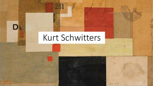 Kurt Schwitters Presentation