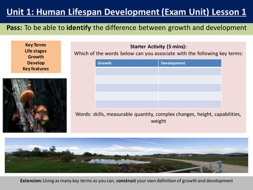 unit 8 human lifespan development