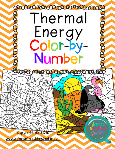 Thermal Energy Methods Of Heat Transfer Color By Number TEKS 69A 69B Shaynaa