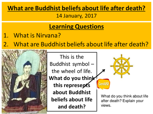 Buddhism Nirvana By Missfinjay Teaching Resources Tes