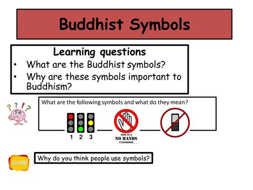 Buddhist Symbols By Missfinjay Teaching Resources Tes