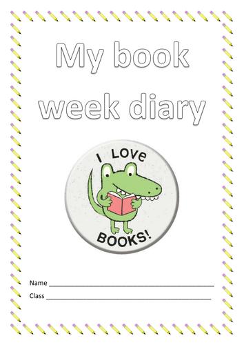 Book week Diary