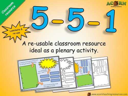 Classroom resource - 5-5-1