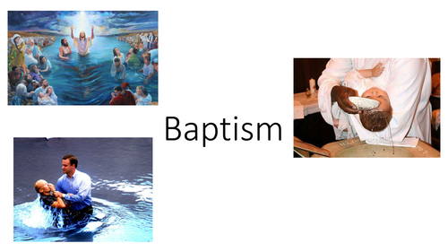 Christianity - Baptism - AQA Spec A 2016/17