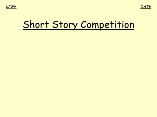 Short stories - creative writing