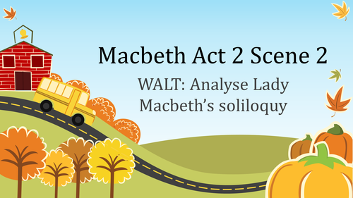 Macbeth: Act 2 Scene 2