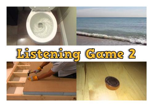 Phase 1 Phonics Listening Game 2 (Sound Bingo/ Lotto)