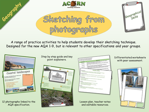 Geography - Geographical skills - Sketching (field and from photos)
