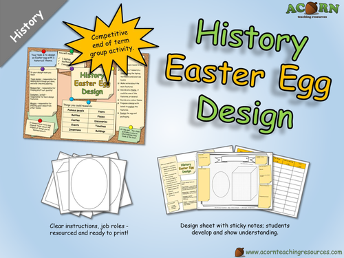 History - Design an Easter Egg (with a historical theme)