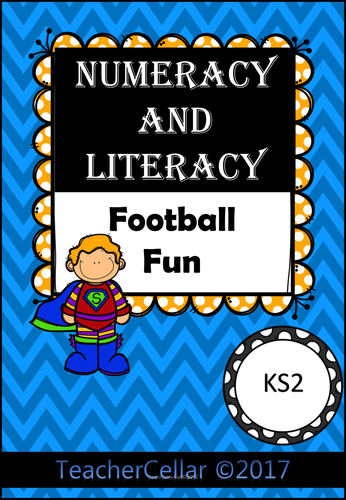 Numeracy and Literacy Football Fun