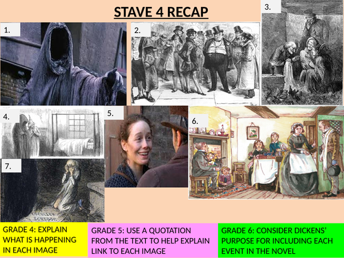stave 4 differentiated comprehension questions on a christmas carol by hmbenglishresources1984 teaching resources tes