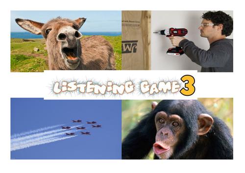 Listening Game 3 - Phase 1 Phonics Bingo