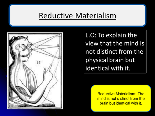reductive materialism