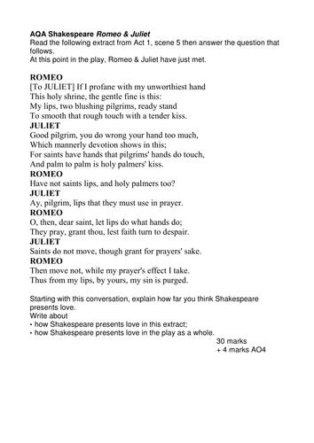romeo and juliet script free pdf