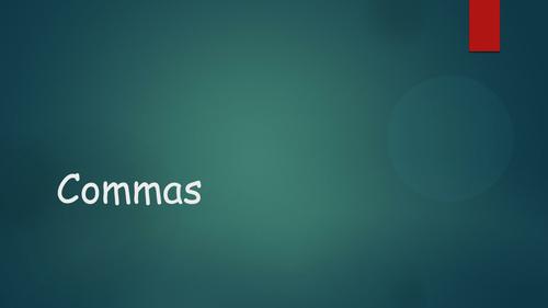 Commas starter