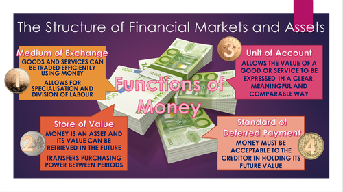 Financial Markets Economics Presentation For New A Level Specification