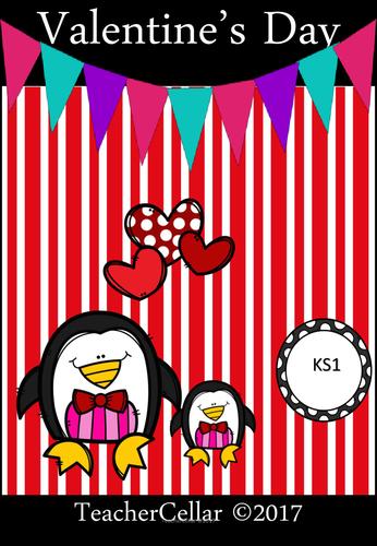 Valentine's Day Workbook KS1