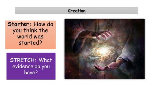 1.2 Creation - Christian Beliefs - New Edexcel GCSE