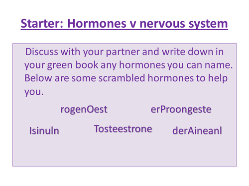 Endocrine system diagrams by jtranah | Teaching Resources