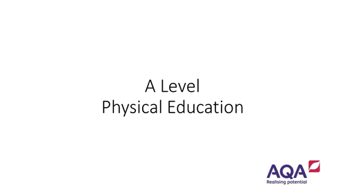 A Level PE - The Benefits and Barriers to Raising Participation in Sport