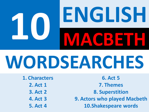 answers macbeth 4acts