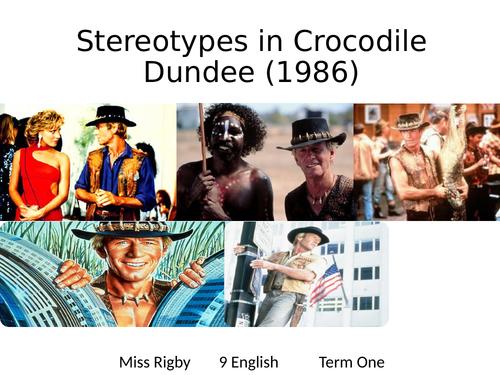 Australian Stereotypes - Crocodile Dundee
