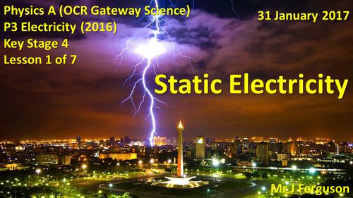 P3 L01 Static Electricity