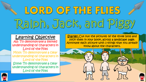 ralph and jack in the lord of the flies essay