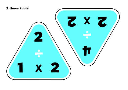 Number Names Worksheets » Fact Family Triangle - Free Printable ...