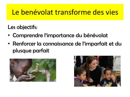 LE BENEVOLAT TRANSFORME DES VIES