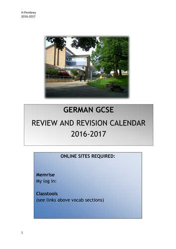 Graphic Organizer Worksheets Word Gcse German Revision  Vocabulary Writing  Speaking  Tes Green Eggs And Ham Worksheets Pdf with Alphabet Worksheet Pdf Word German Gcse Vocabulary Revision Schedule With Links To Online Resources And  Complete Word Lists Inequalities On A Number Line Worksheet Excel