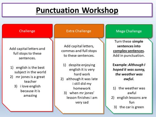 descriptive writing creative writing english language by  descriptive creative writing punctuation