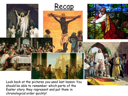 Easter - without lesson plan
