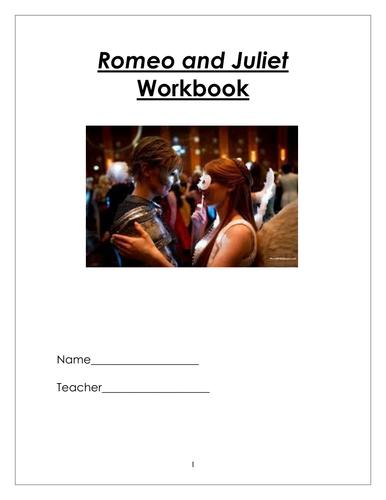 Romeo and Juliet Workbook