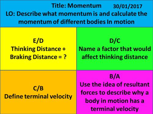 Aqa c31 periodic table revision competition by prhilton new ks4 aqa 2016 physics chapter 1 energy momentum urtaz Gallery