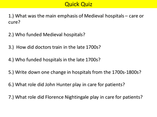 AQA (9-1) GCSE History - Health and the People - Lesson 14 (Jenner)