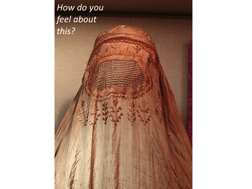 1/2 Lessons - Should the Burqa be banned in the UK? (Ks3/4 Religious Studies/PSHEE