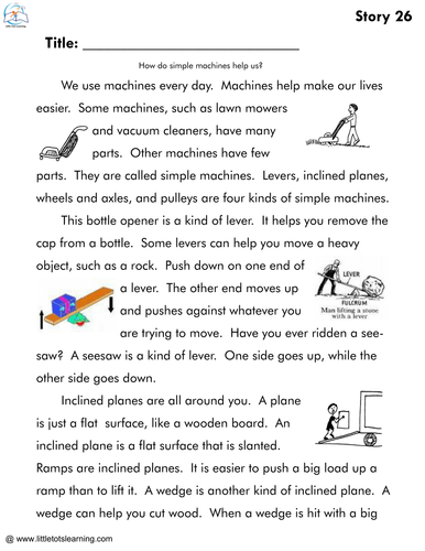 1st Grade Reading Comprehension Passages Bundle by ...