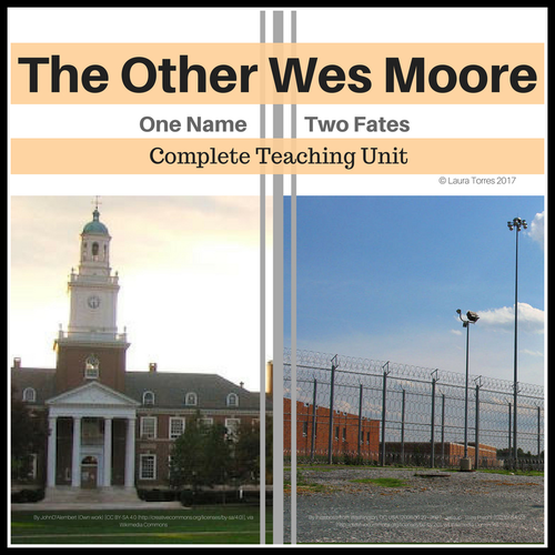 The Other Wes Moore Essay Sample