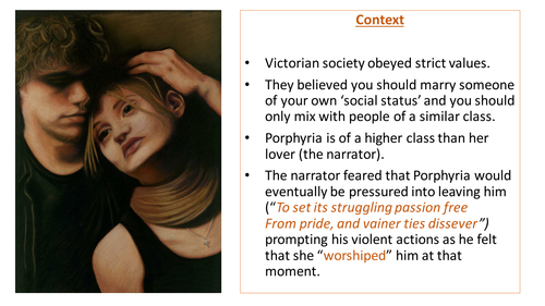 Porphyria's Lover Lesson