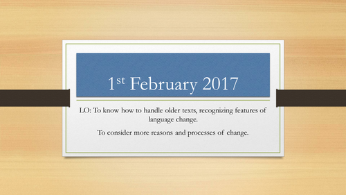 AQA English Language A Level Language Change - Political Correctness