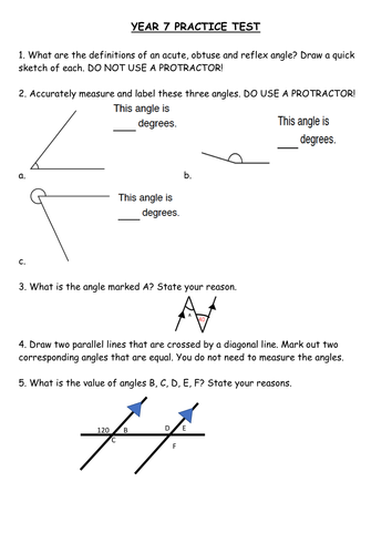 Angle Area Polygons Symmetry Revision