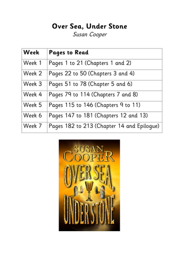 Over Sea Under Stone by Susan Cooper - Unit of Work