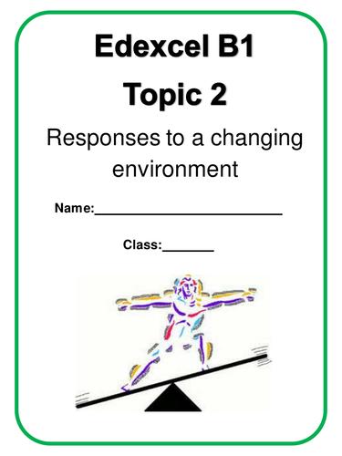 Edexcel B1 Topic 2 30 page workbooklet