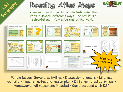 Geography - Reading Atlas Maps